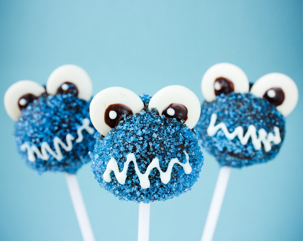 Cake pops with googly eyes coated with the best scientific SEO Sugar on earth, pretty much the next level for your business